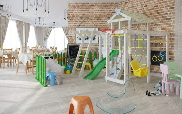 Детский игровой комплекс САВУШКА BABY CLUB-5