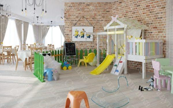 Детский игровой комплекс САВУШКА BABY CLUB-6