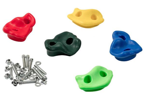 Пластиковые камни для скалодрома