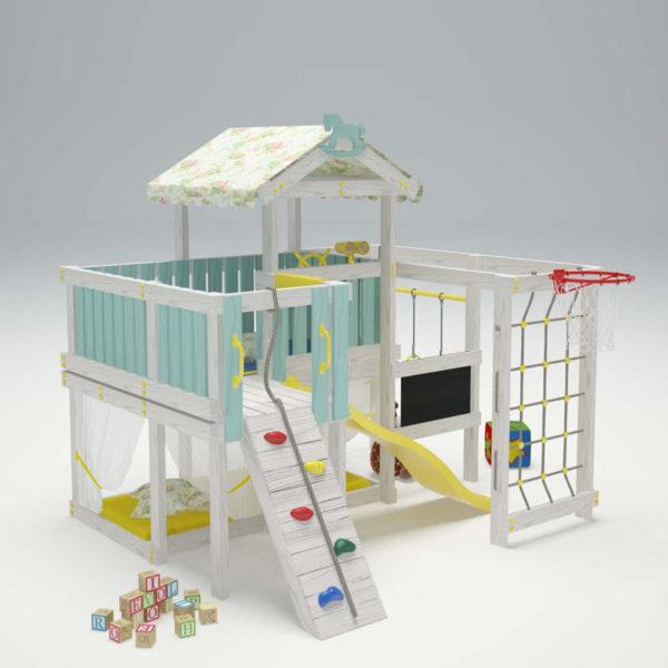 Детский игровой комплекс-чердак САВУШКА BABY - 8