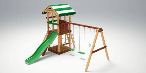 Детский игровой комплекс для дачи Савушка 11