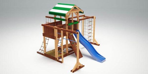 Детский игровой комплекс для дачи Савушка 15