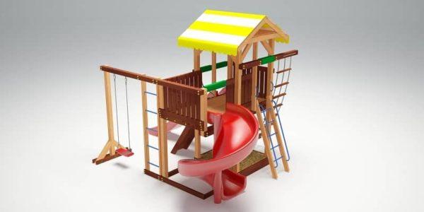 Детский игровой комплекс для дачи Савушка 18