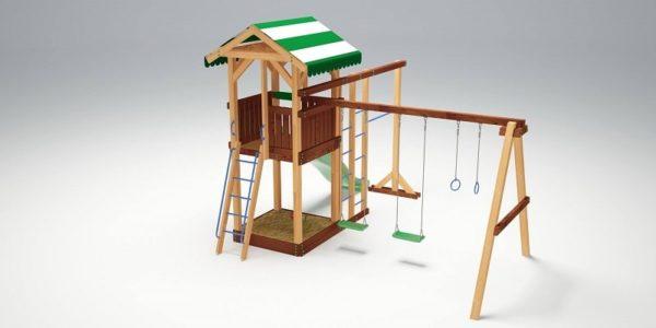 Детский игровой комплекс для дачи Савушка 6