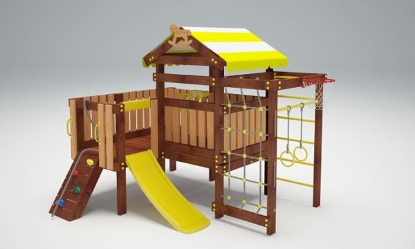 Детский игровой комплекс для дачи САВУШКА BABY PLAY - 7