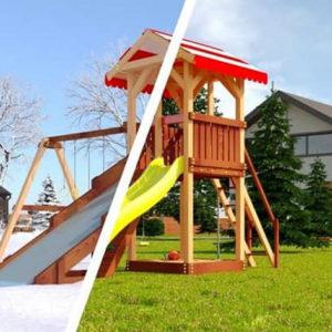 Детская площадка Савушка 4 сезона - 2