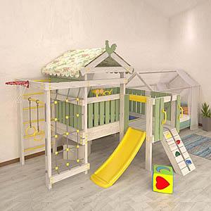 Детские площадки для дома и серии CLUB