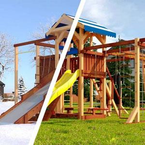 Детские площадки Савушка 4 сезона