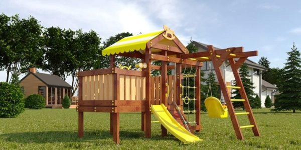 Детский игровой комплекс для дачи САВУШКА BABY PLAY - 2