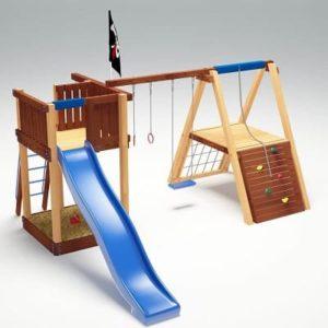 Детский игровой комплекс для дачи Савушка 3_1