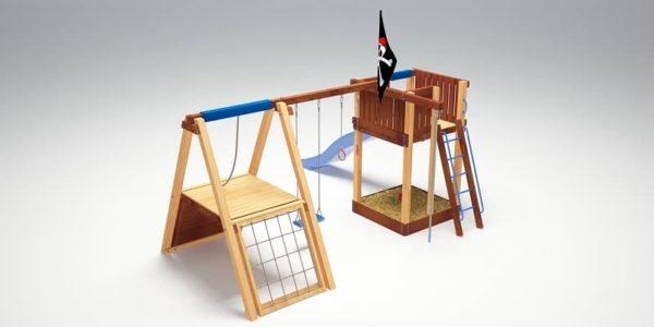Детский игровой комплекс для дачи Савушка 3_2