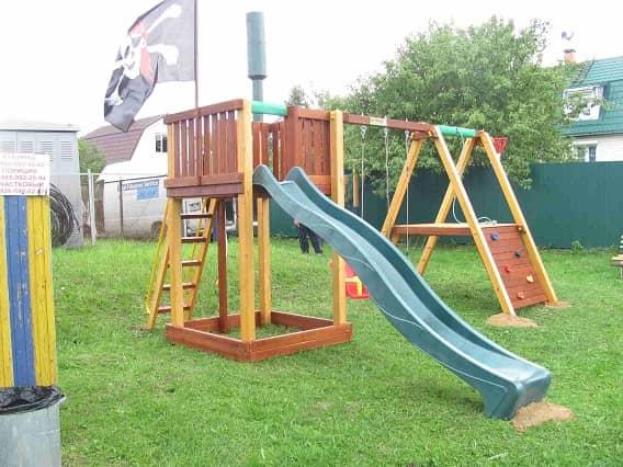 Детский игровой комплекс для дачи Савушка 3_5