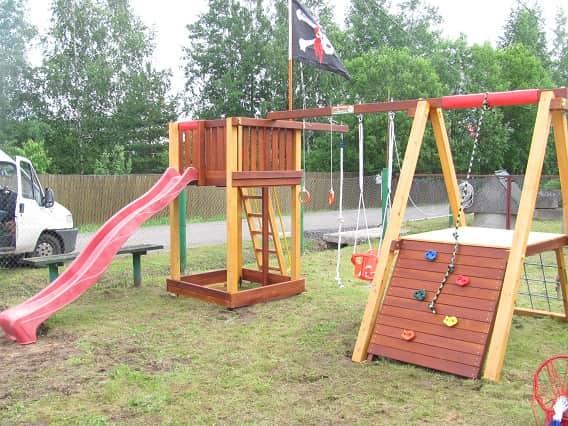 Детский игровой комплекс для дачи Савушка 3_6