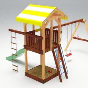 Детский игровой комплекс для дачи Савушка 4_1