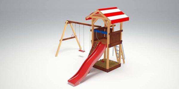 Детский игровой комплекс для дачи Савушка 5_4
