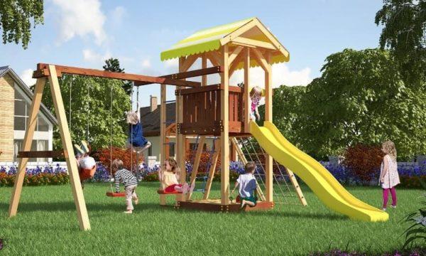 Детский игровой комплекс для дачи Савушка 7