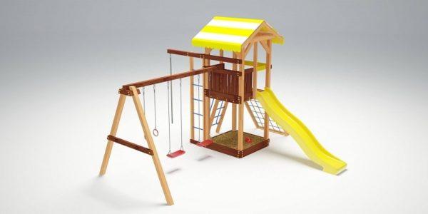 Детский игровой комплекс для дачи Савушка 7_1