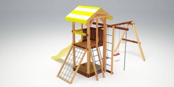 Детский игровой комплекс для дачи Савушка 7_2