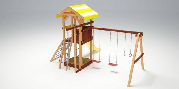 Детский игровой комплекс для дачи Савушка 7_3