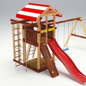 Детский игровой комплекс для дачи Савушка 8_1