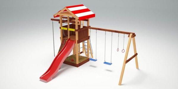 Детский игровой комплекс для дачи Савушка 8_3