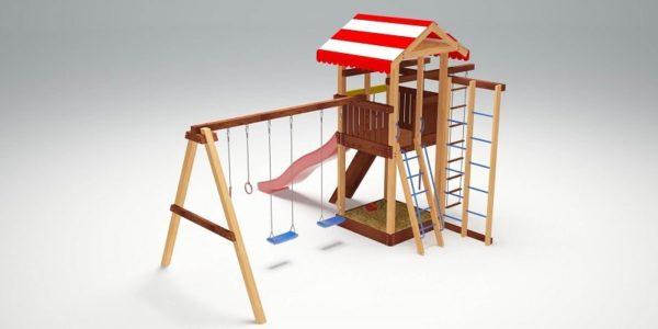 Детский игровой комплекс для дачи Савушка 8_4