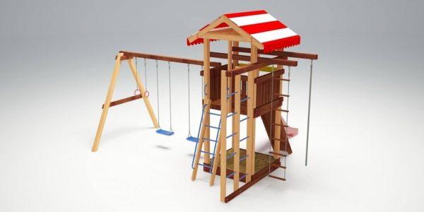 Детский игровой комплекс для дачи Савушка 8_5