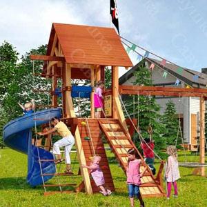 Детские площадки Савушка Lux