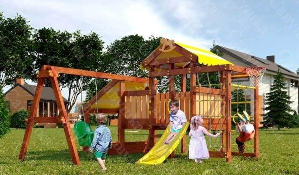 Детский игровой комплекс для дачи САВУШКА BABY PLAY - 12