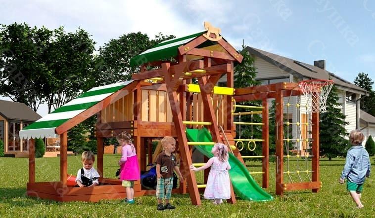 Детский игровой комплекс для дачи САВУШКА BABY PLAY - 13