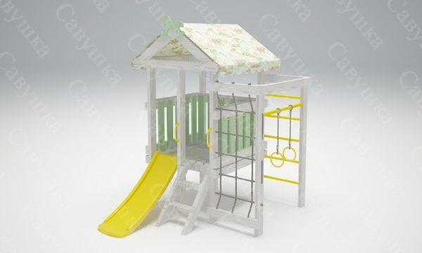 Детский игровой комплекс-чердак САВУШКА BABY - 12_1