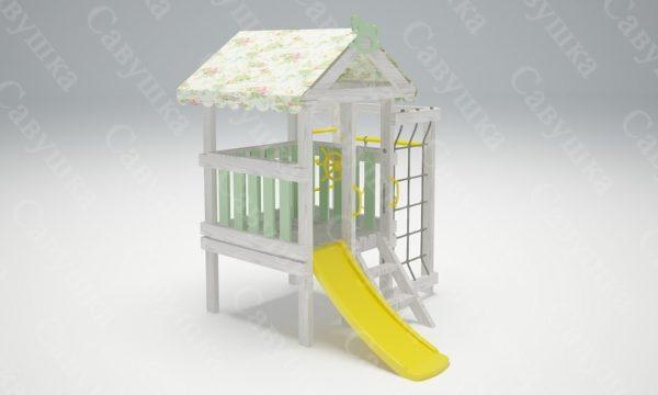 Детский игровой комплекс-чердак САВУШКА BABY - 12_4